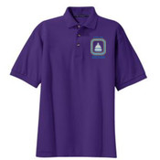 Port Authority Tall Heavyweight Cotton Pique Polo